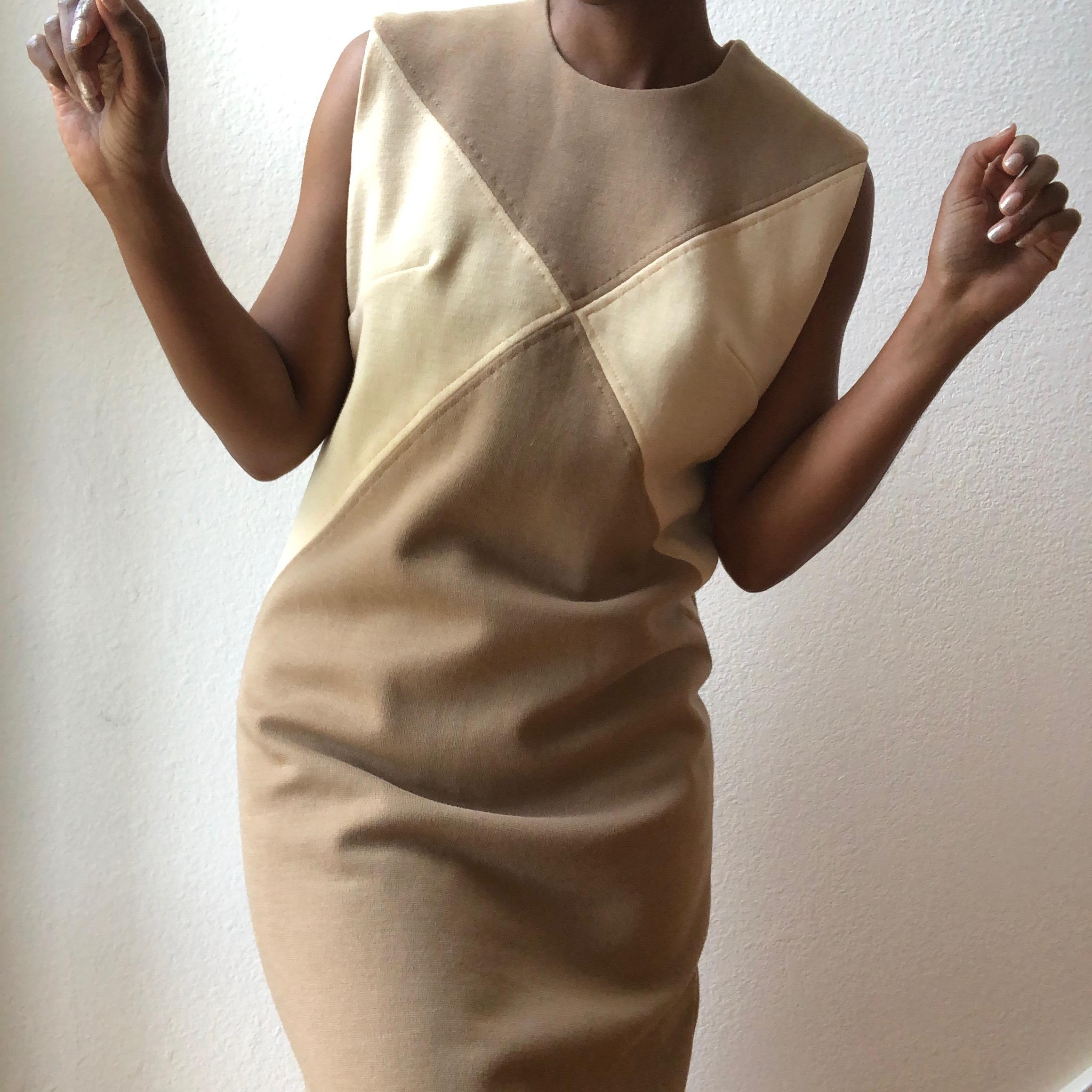Mod Colorblocked Shift Dress