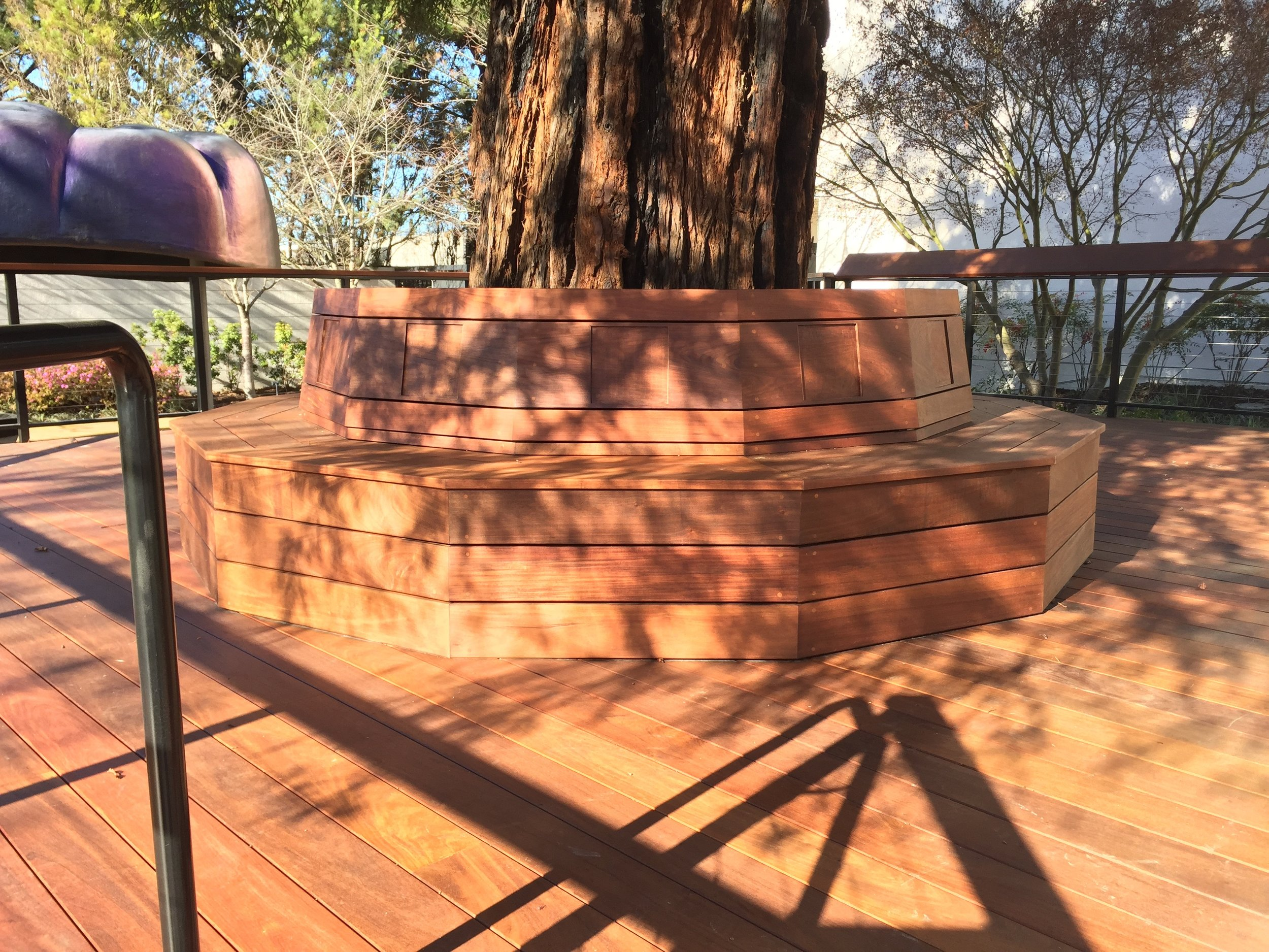 MUSEUM BENCH AND DECK
