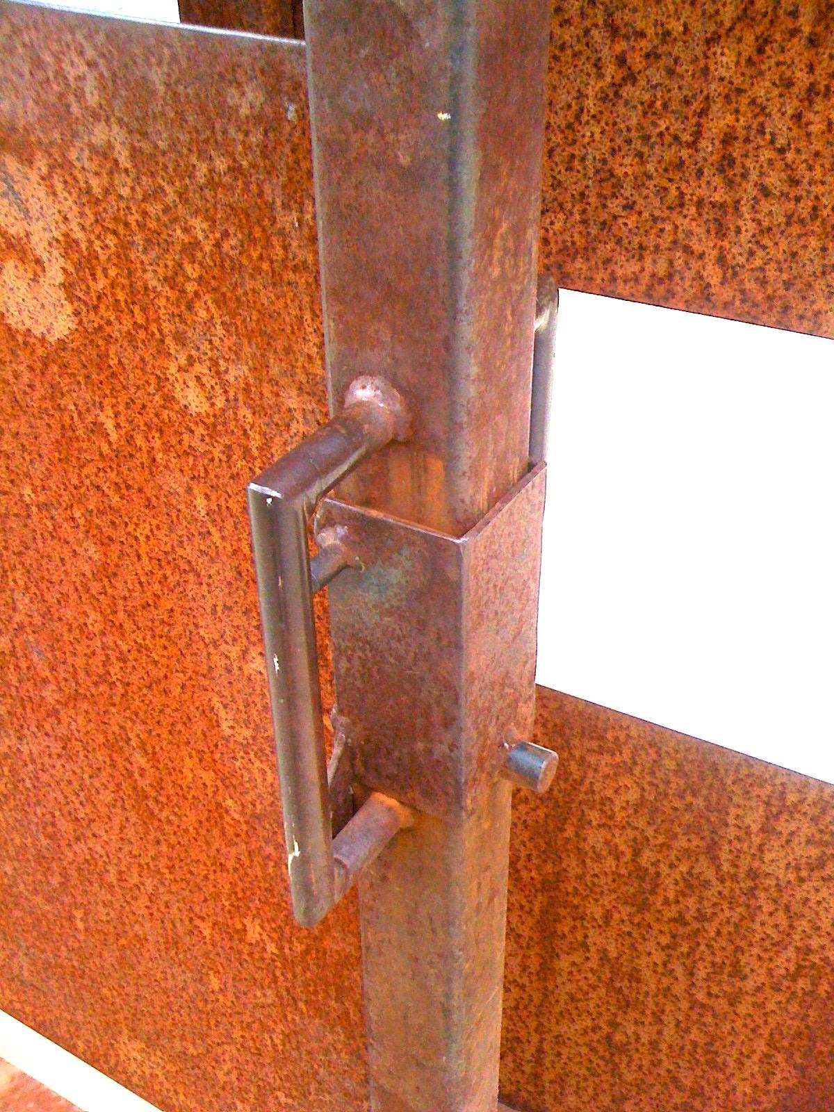 CUSTOM GATE LATCH STEEL