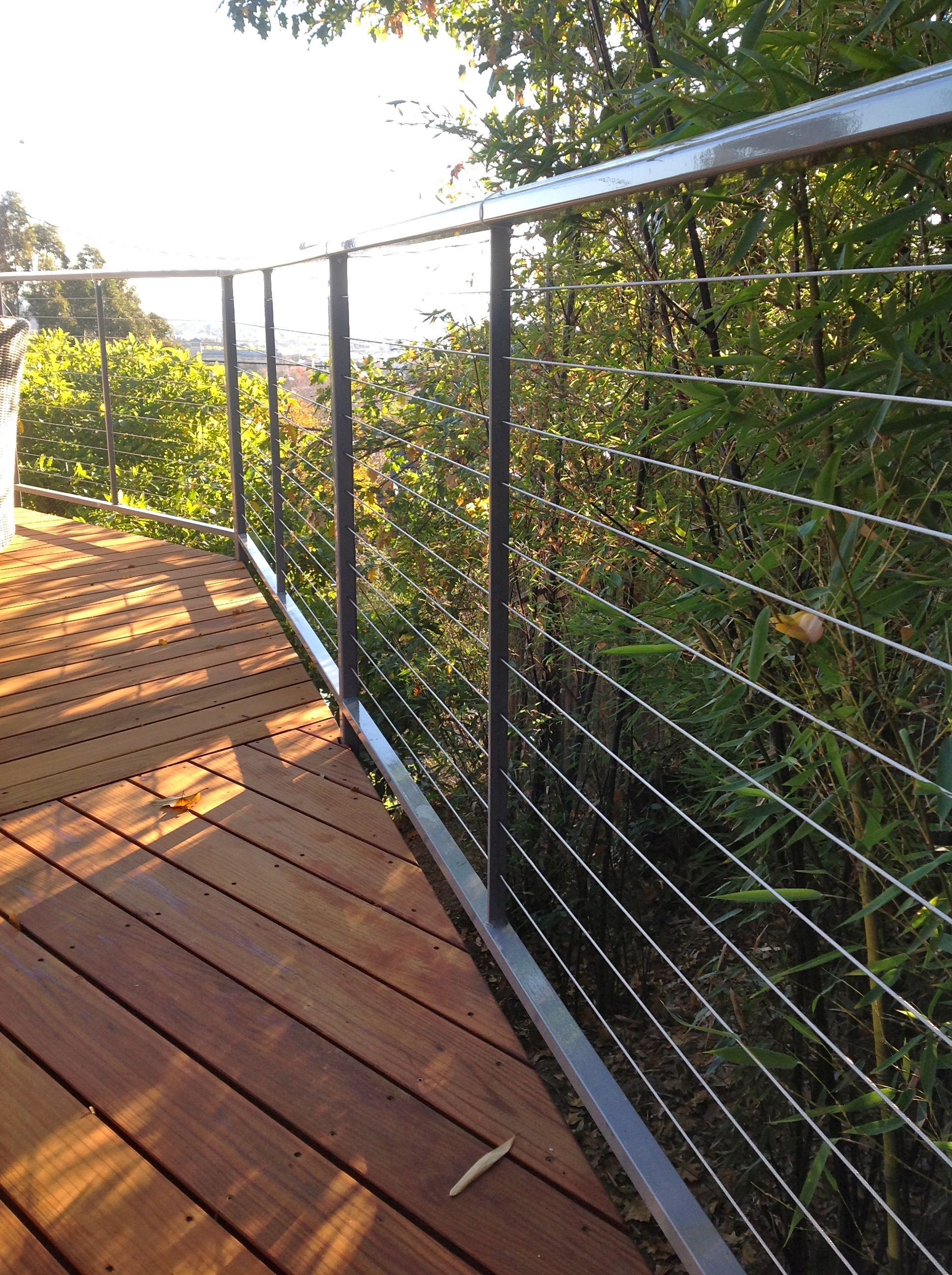 STEL CABLE RAILING GREY