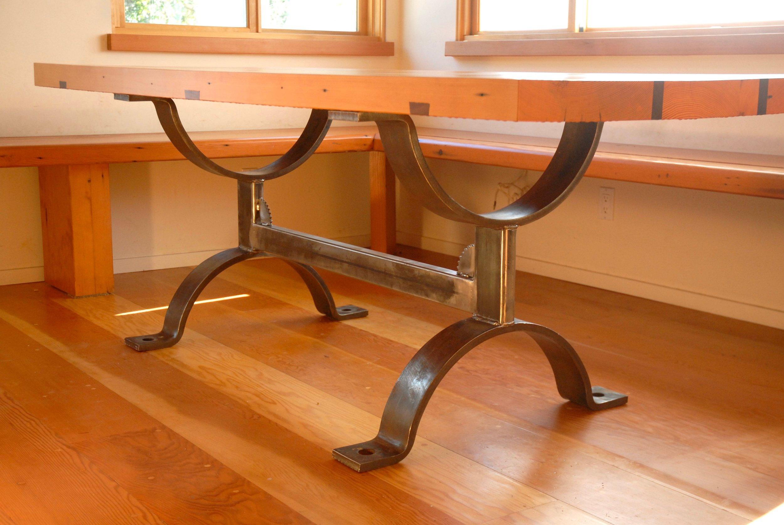 RECLAIMED WOOD TABLE W: WELDED STEEL BASE.jpg
