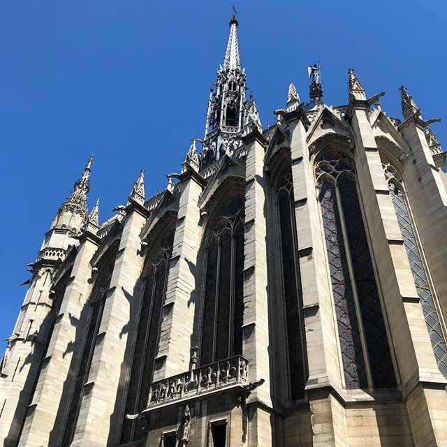 Impossible to do justice for sainte chapelle