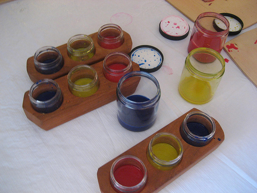 Our beloved painting sets from Palumba