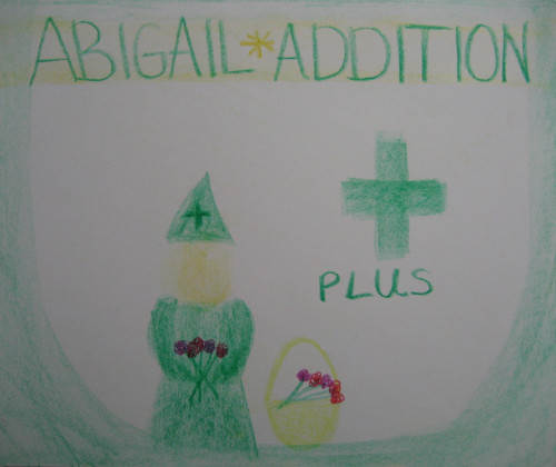 Abigail Addition, an Arithmetic Gnome | Lavender's Blue Homeschool