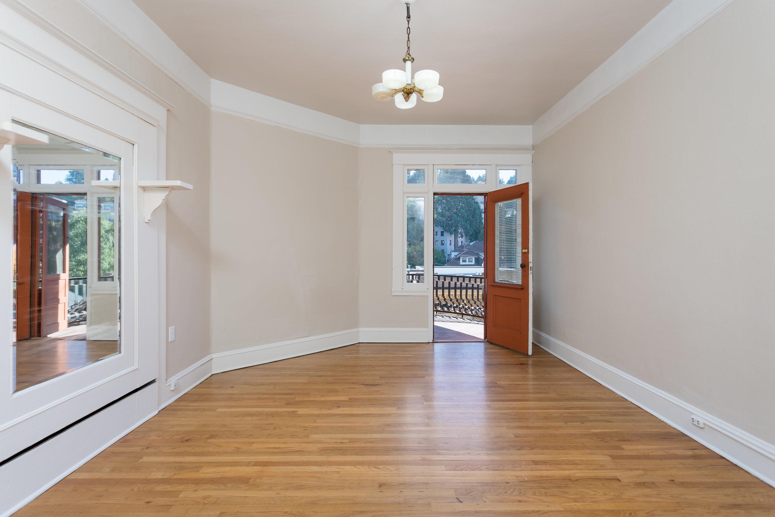 Wood Floors and Balconies