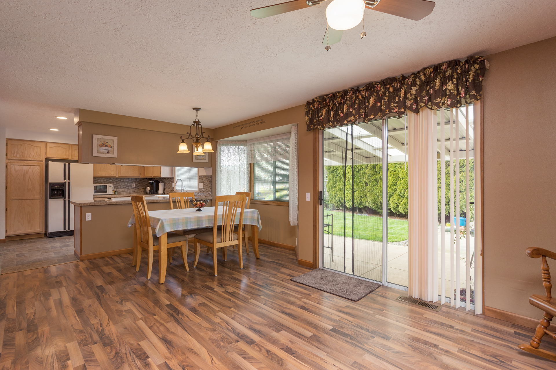 Family Room/Dining/Kitchen