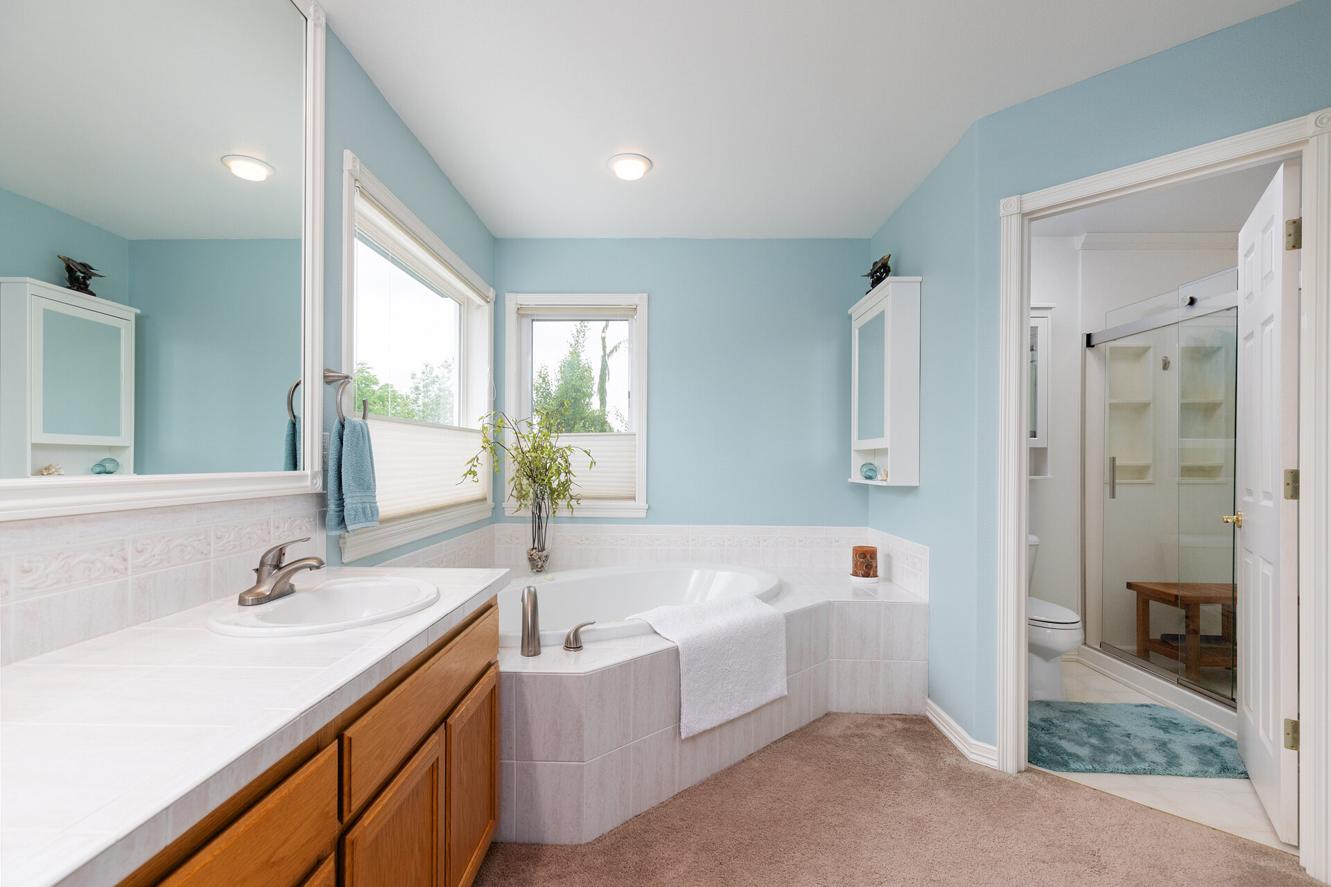 Light and Bright Master Bath