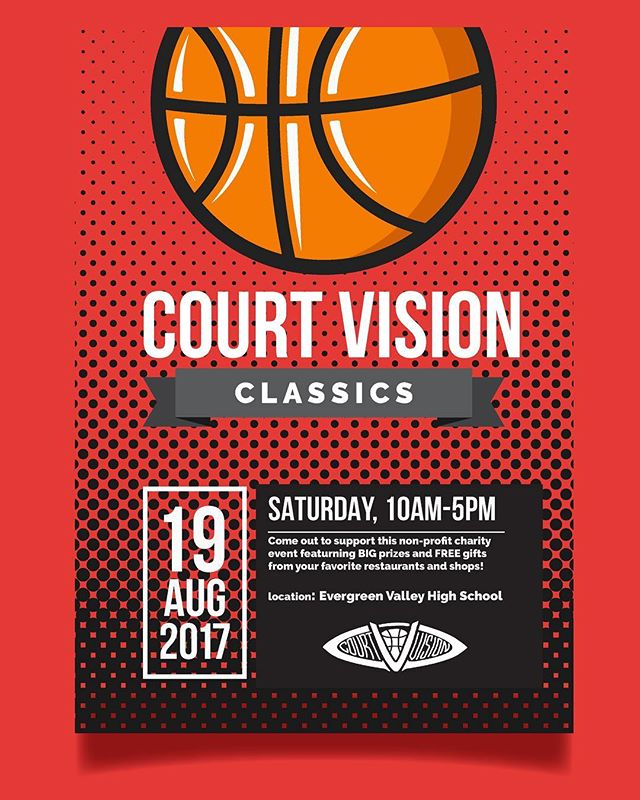 3 on 3 charity tournament for kids age 11-15. ALL ages encouraged to attend‼️Let's help raise money for blind youth🙌🏾