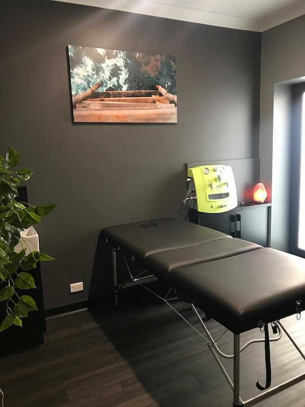 Colonic Irrigation Room at Clarity Essential Wellness in Sale Gippsland