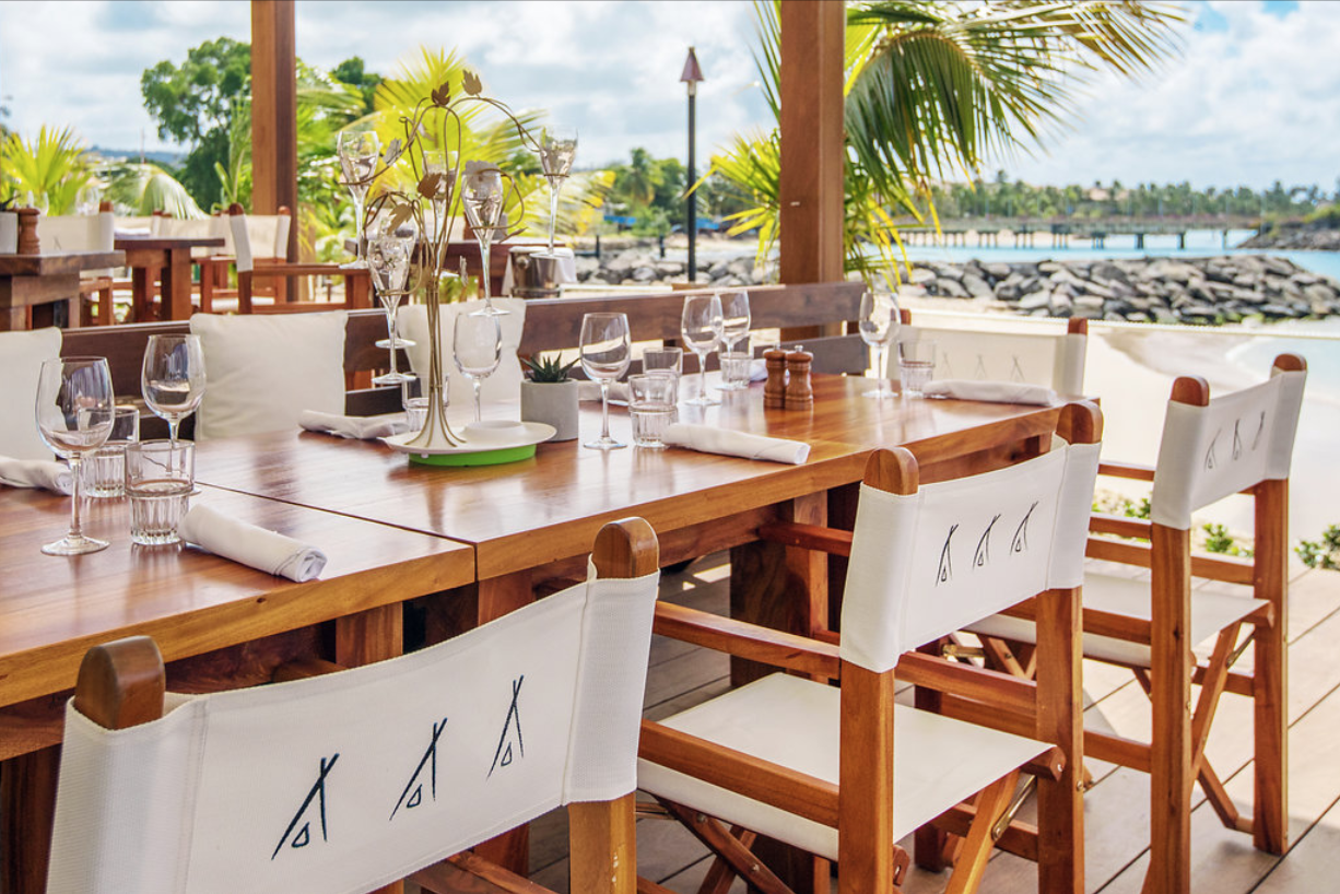 Breezy beachside dining