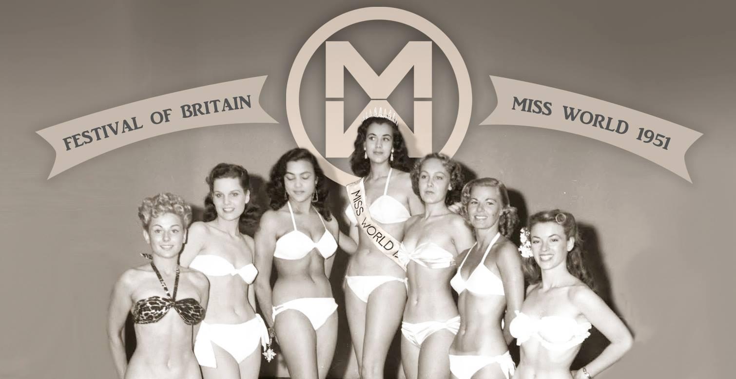 "Kerstin ""Ki Ki"" Hakansson First Miss World 1951"