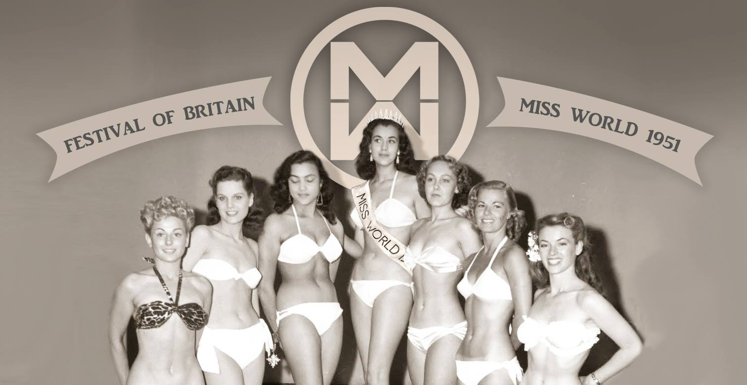 "Kerstin ""Ki Ki"" Hakansson - 1st Miss World - 1951"