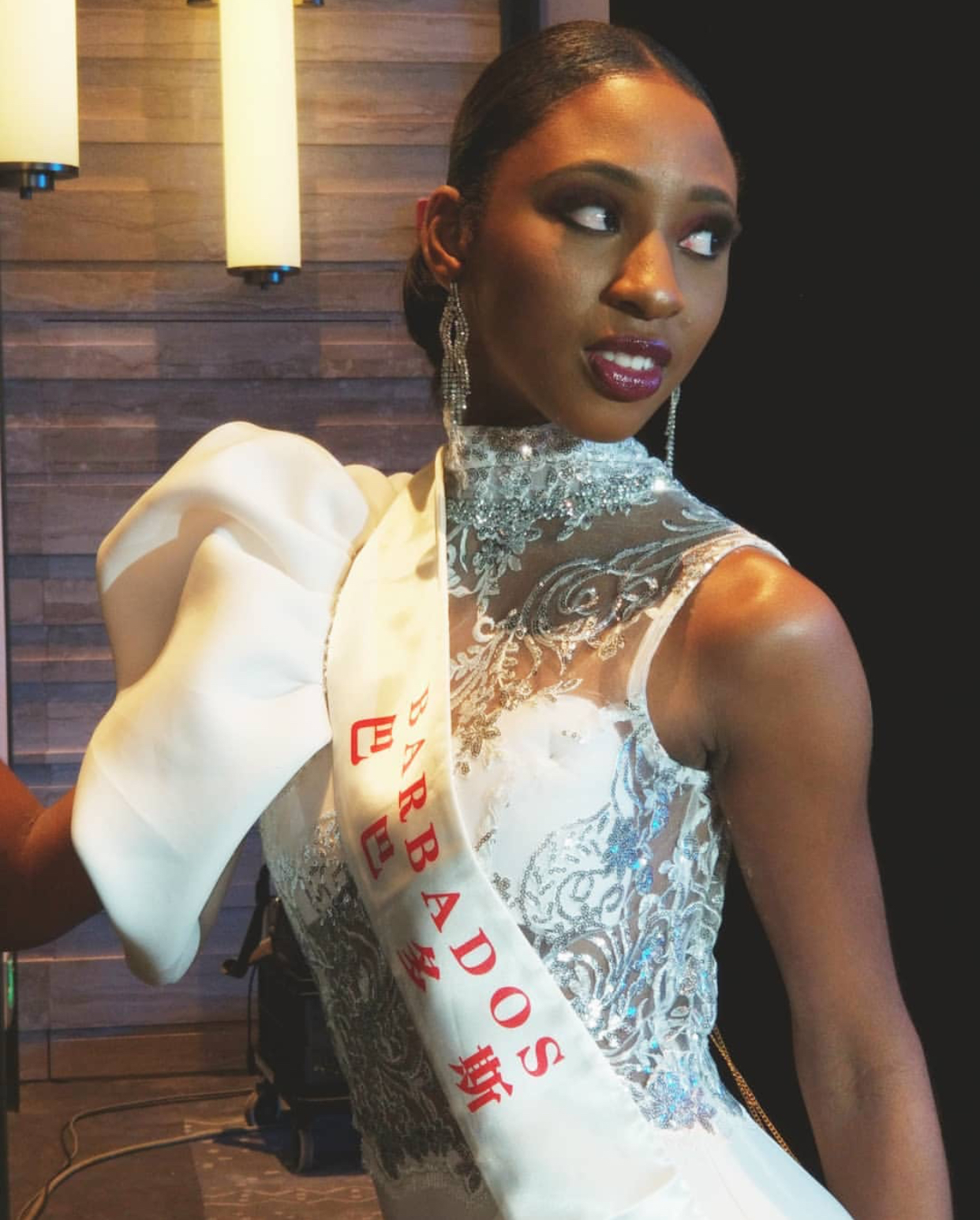Ashley Lashley - Miss World Barbados 2018