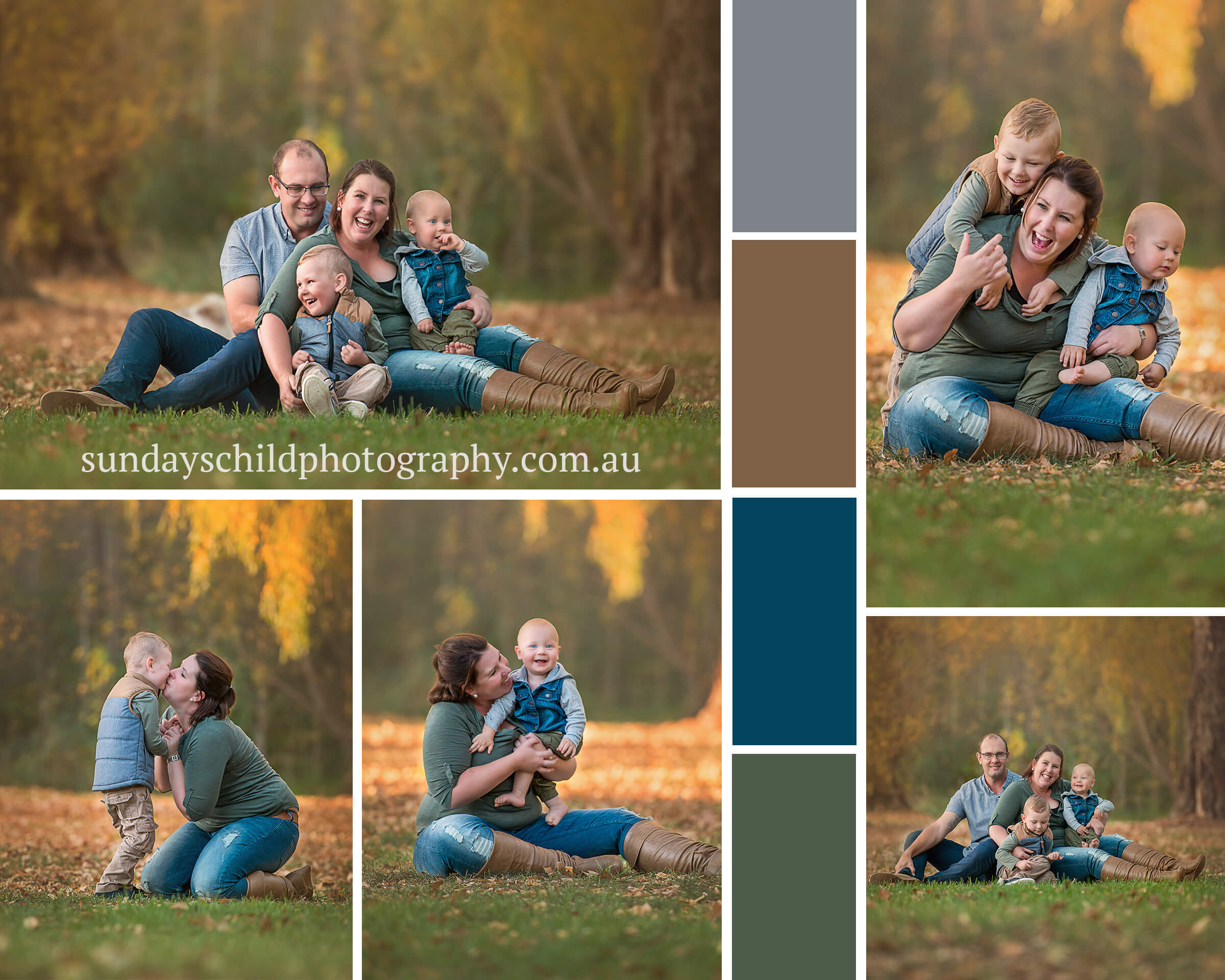 How to dress for a family photography session.