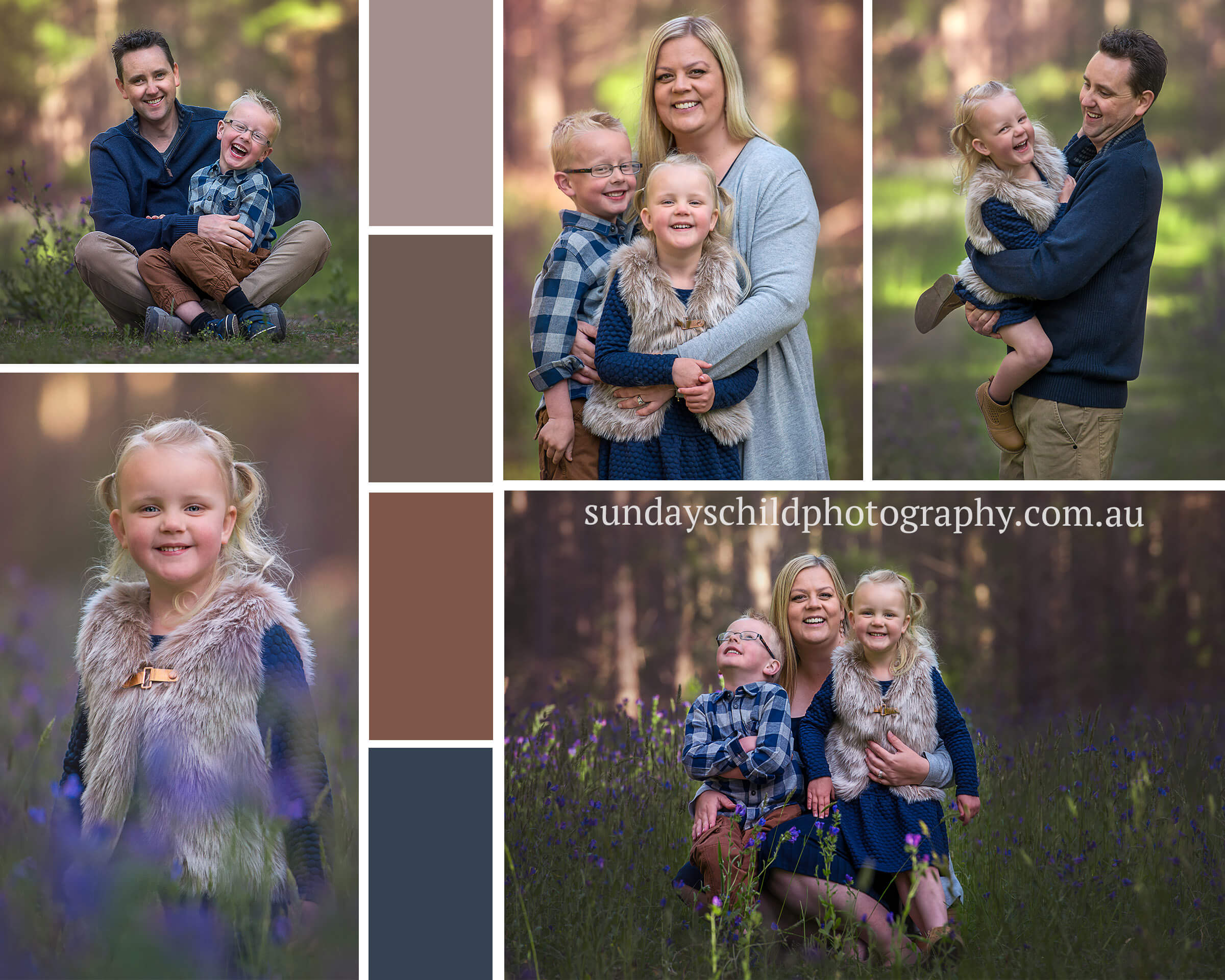 Adelaide Family Photographer wearing pattern and texure