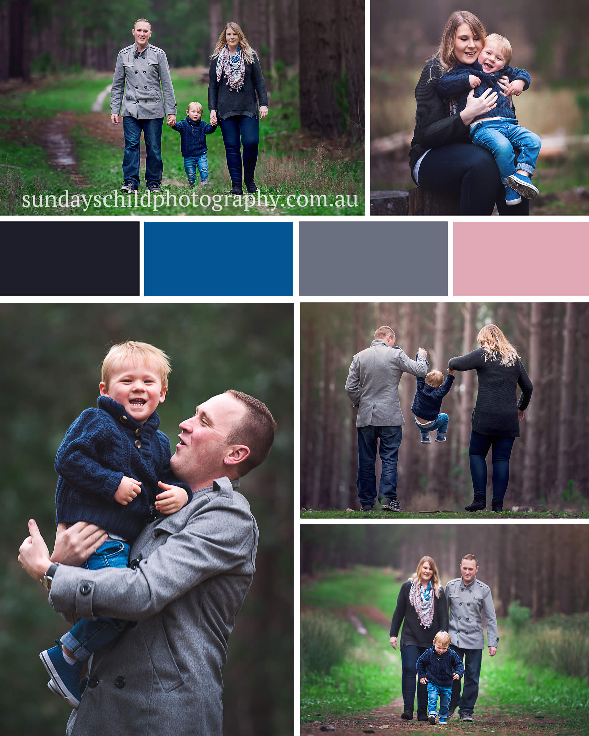Adelaide Family Photography Session adding pops of colour