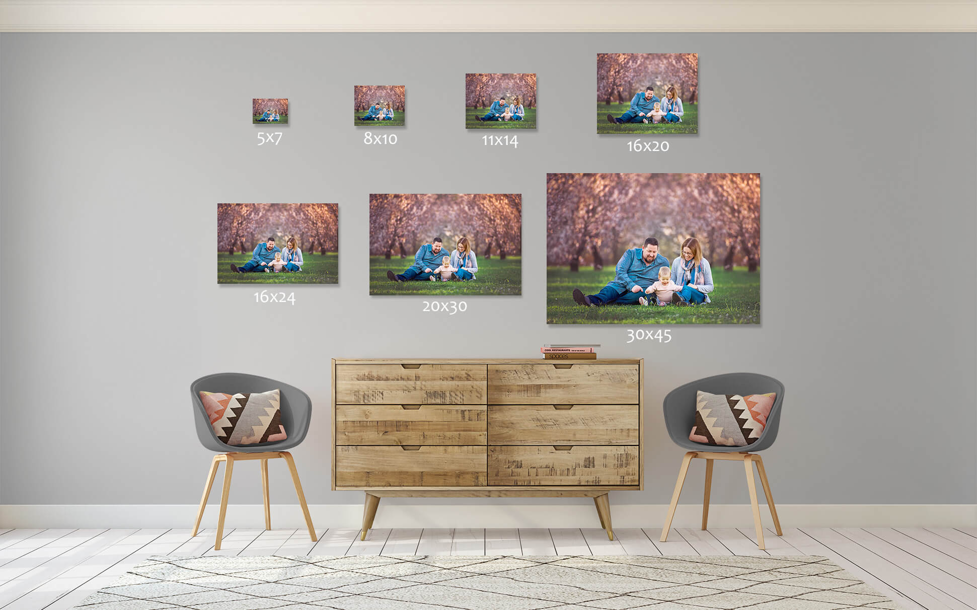 *When you purchase more than one piece of wall art you will receive a 10% discount of the total cost.