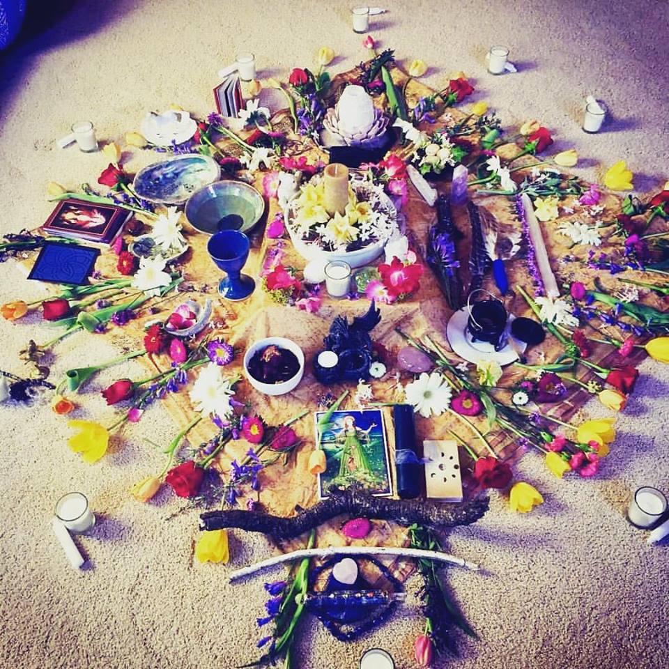 Beltane altar.jpg