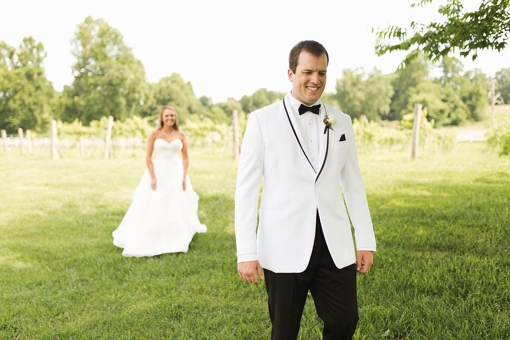 This first look was the sweetest!