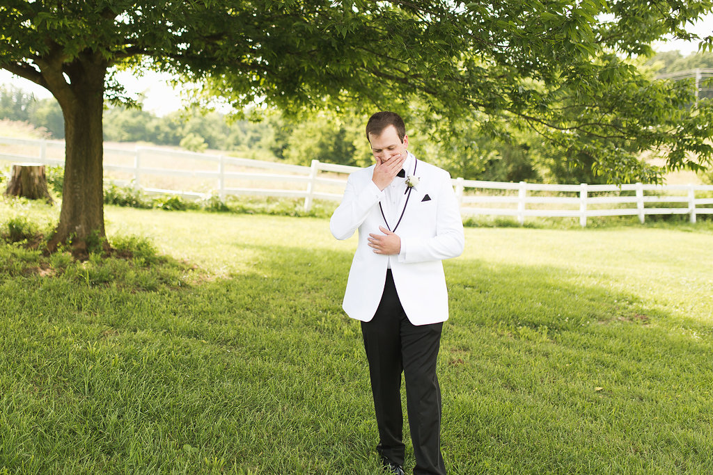 I love seeing the reaction of the groom...It never gets old!!!