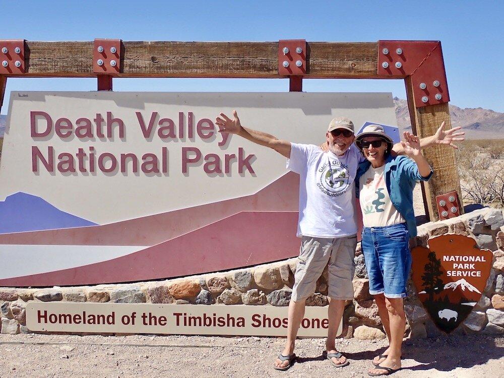 Traveling America By Van: Through Death Valley