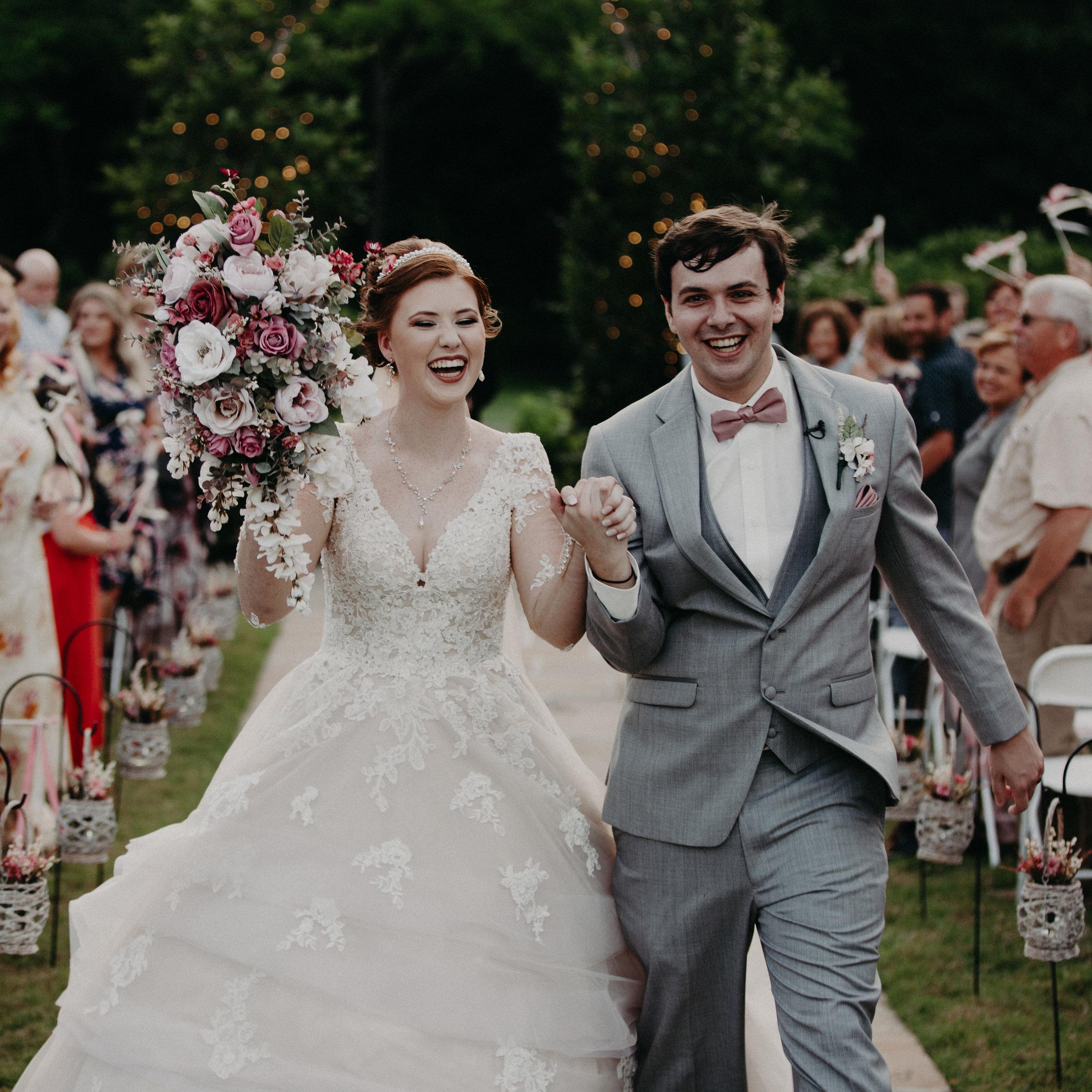 Dickson Tennessee Outdoor Wedding