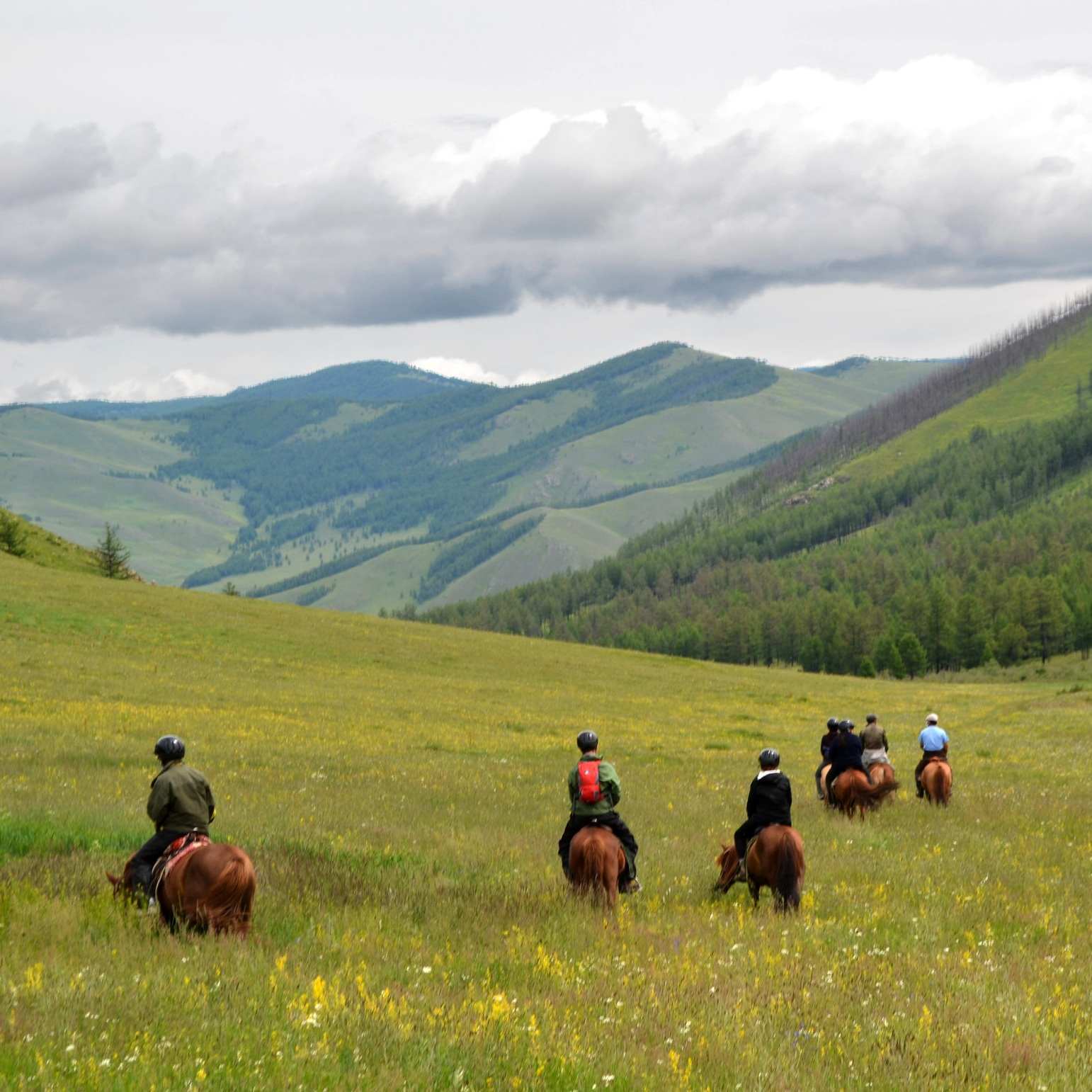 MONGOLIA ON HORSEBACK -