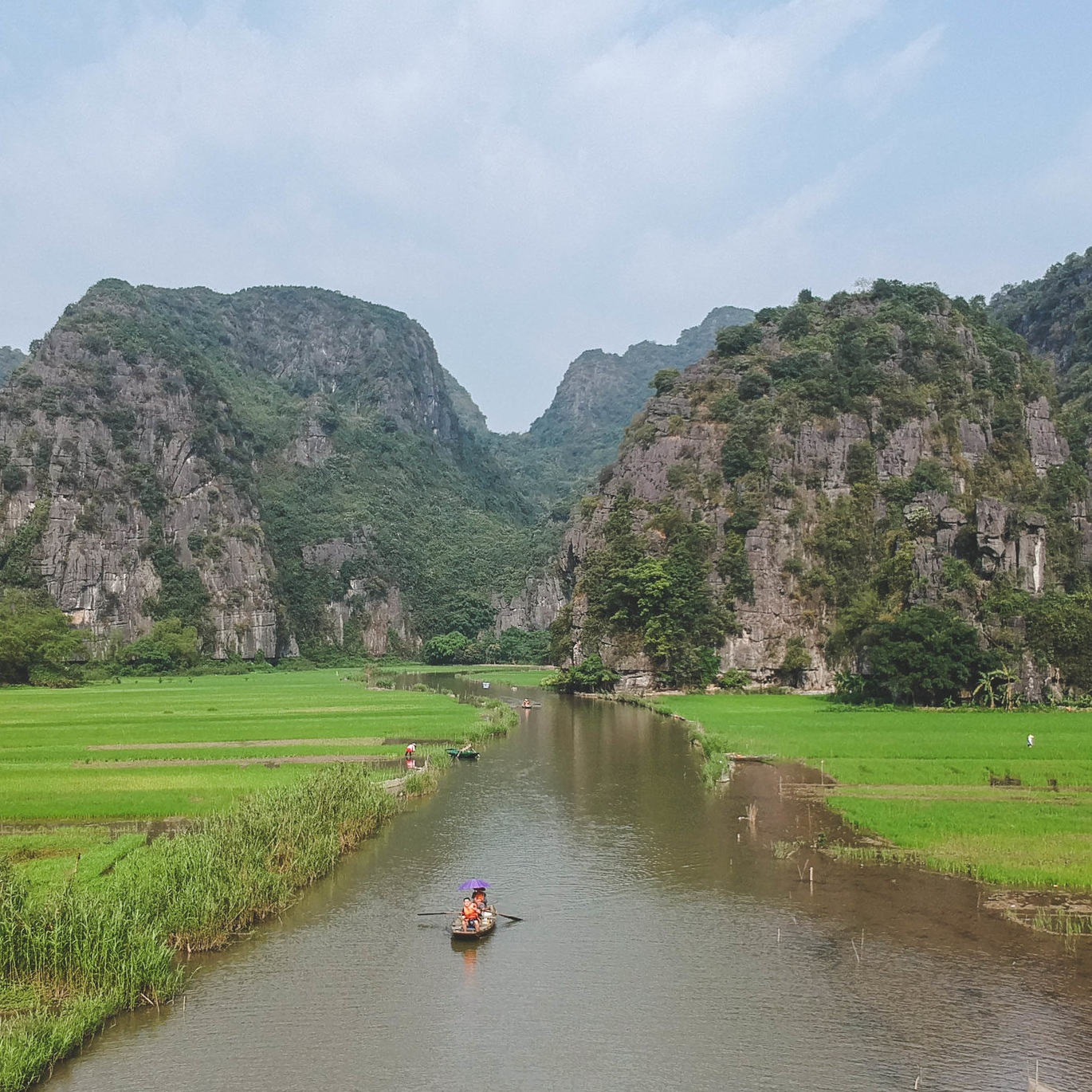 TRANG AN RIVER VALLEY -