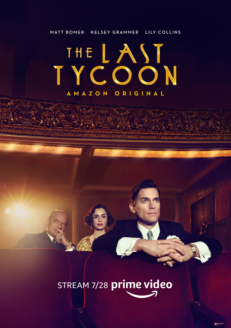 THE LAST TYCOON - Music by Mychael DannaMusic Editing by Jessica Weiss