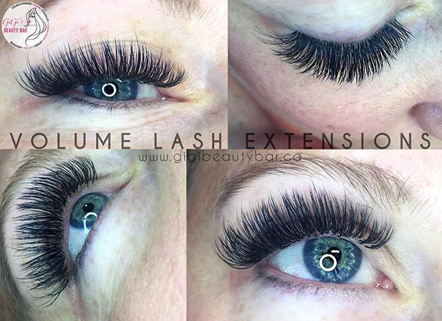 Look at all the angles on this set of volume eyelash extensions 👌 Volume eyelash extensions are much fluffier, softer and multidimensional! You can BOOK your appointments ONLINE! ✨ Check it out at, http://gigis-beauty-bar.genbook.com Questions? Feel free to contact via call/text 📞705-341-9089  Visit www.gigibeautybar.ca for details and view our list of beauty services✨ 📍Located @ 232 Main St Bobcaygeon, ON  #eyelashes #extensions #eyelashextension #bobcaygeon #kawarthalakes #lindsay #ontario #lashes #salon #beauty #beautybar #lashme #certified #lashlift #eyelashperm #lashperm #beautybar #kawarthapeeps #eyelashartist #lashartist #lashtech #website #graphicdesign #volumelashextensions #wax #hybridlashes  #waxing #lashextensions #volumelashes #lashesdone