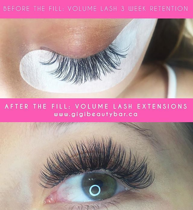 Check out the retention on volume lash extensions after 3 weeks!! You can BOOK your appointments ONLINE! ✨ Check it out at, http://gigis-beauty-bar.genbook.com Questions? Feel free to contact via call/text 📞705-341-9089  Visit www.gigibeautybar.ca for details and view our list of beauty services✨ 📍Located @ 232 Main St Bobcaygeon, ON  #eyelashes #extensions #eyelashextension #bobcaygeon #kawarthalakes #lindsay #ontario #lashes #salon #beauty #beautybar #lashme #certified #lashlift #eyelashperm #lashperm #beautybar #kawarthapeeps #eyelashartist #lashartist #lashtech #website #graphicdesign #volumelashextensions #wax #hybridlashes  #waxing #lashextensions #volumelashes #lashesdone