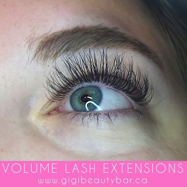 Gorgeous volume lash extensions. So fluffy and full. Volume lash extensions are ultralight weight on your lashes.  You can BOOK your appointments ONLINE! ✨ Check it out at, http://gigis-beauty-bar.genbook.com Questions? Feel free to contact via call/text 📞705-341-9089  Visit www.gigibeautybar.ca for details and view our list of beauty services✨ 📍Located @ 232 Main St Bobcaygeon, ON  #eyelashes #extensions #eyelashextension #bobcaygeon #kawarthalakes #peterboroughlashes #ontariolashes #lashes #salon #beauty #beautybar #lashme #oshawalashes #lashlift #eyelashperm #lashperm #beautybar #kawarthapeeps #eyelashartist #lashartist #lashtech #oshawalashes #volumelashextensions #volumelash #lashliftandtint #browwax #browtint #browtinting #lashlifting #lashgoals