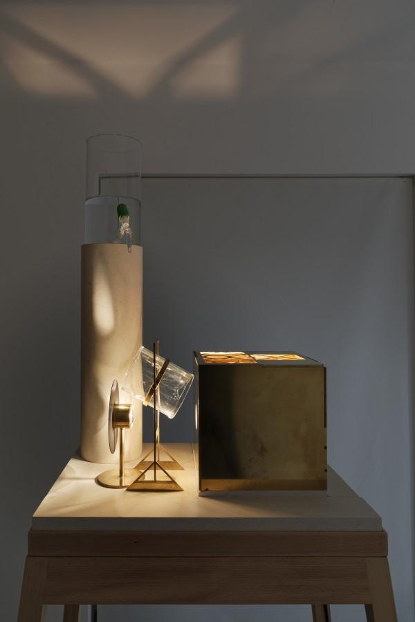 Francisco Tropa,  Lantern (drop),  2012.