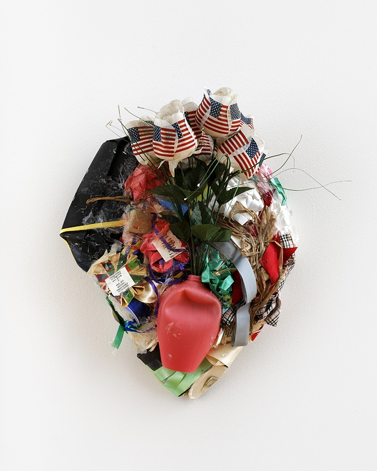Dylan Spaysky,  Independence Day Wall Vase , 2015.