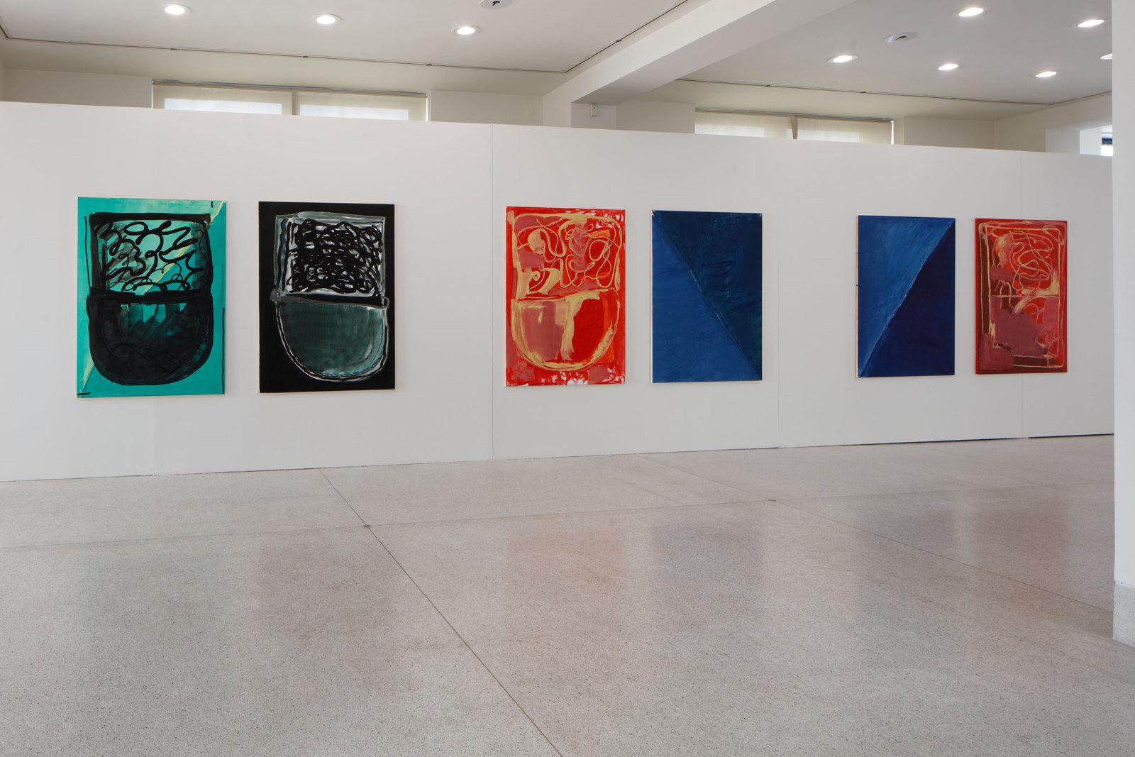 Martin Lukáč, installation view, 2016