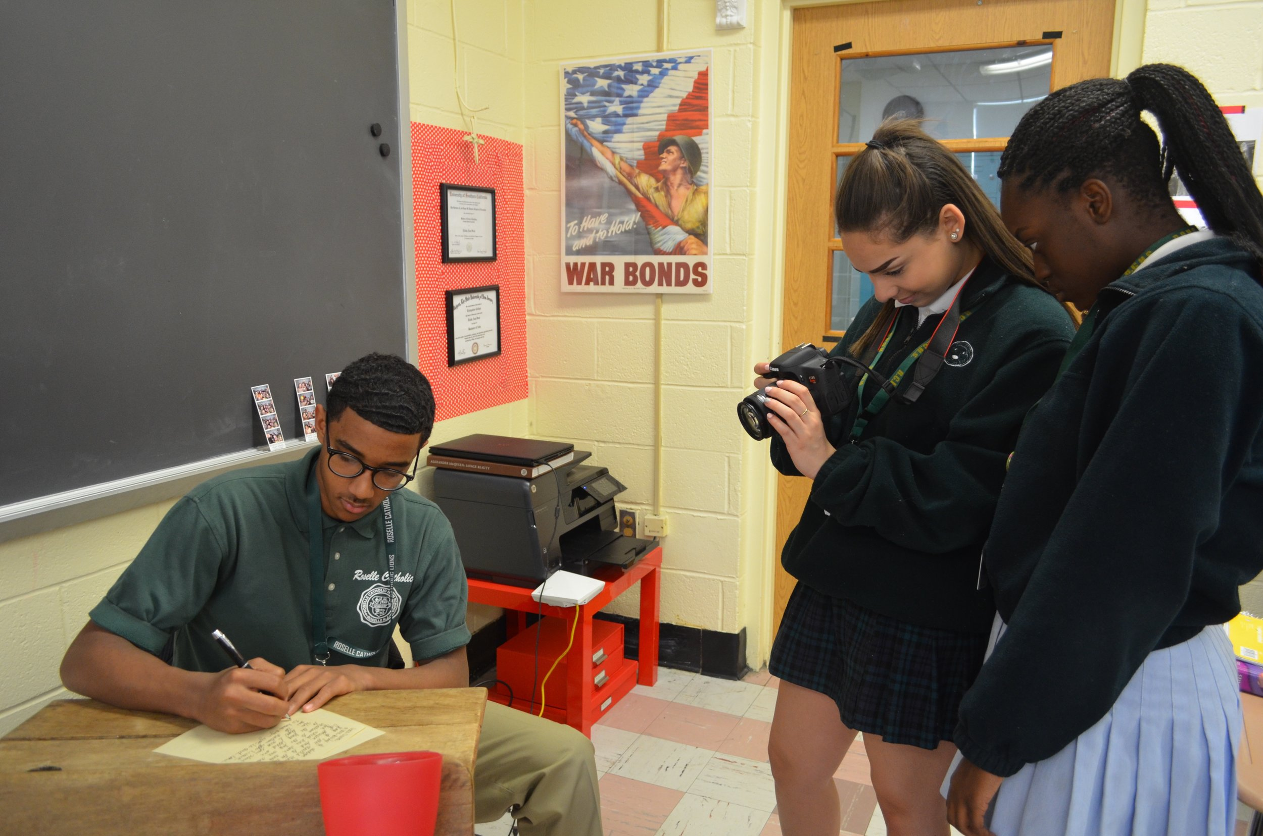 AP & HONORS - All of our courses in the core areas, as well as Art, offer Honors sections, which feature advanced material and heightened student responsibilities. Students in Honors sections receive a weighted grade that reflects these additional commitments. Selection for Honors sections is based on student achievement in previous related coursework and teacher recommendations.Additionally, Roselle Catholic offers a number of Advanced Placement (AP) courses approved by The College Board.  The College Board is a non-profit organization that controls the designation