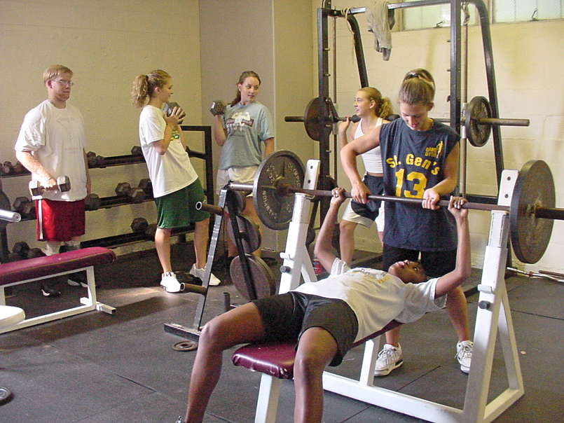 John Allen Fitness Center - The John G. Allen Fitness Center is located off the gym, and contains both cardiovascular and weight equipment. It is open and accessible after school year-round, under the supervision of RC staff members. All students are strongly encouraged to use the Fitness Center.