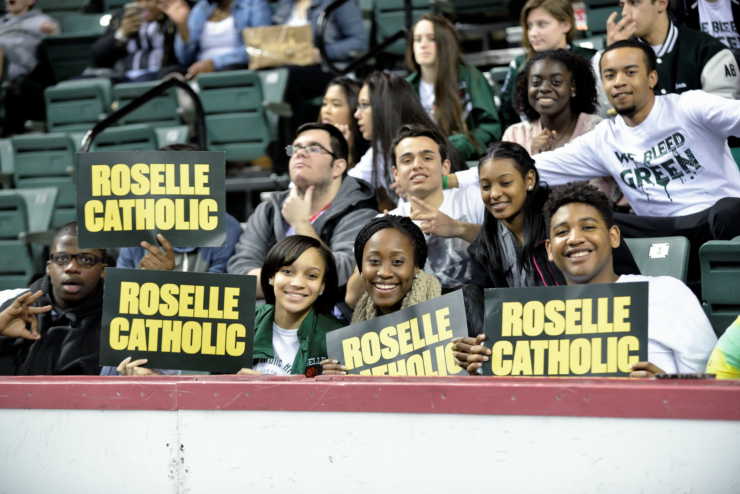Athletic Hall of Fame - Since their inception, Roselle Catholic High School and Girls Catholic High School held a strong athletic tradition.  The Roselle Catholic Hall of Fame was established to permanently honor the elite Roselle Catholic and GIrls Catholic graduates, coaches, and teams for their contributions to Roselle Catholic and Girls Catholic athletics and their embodiment of the Roselle Catholic mission of being successful, responsible, and ethical citizens while as a part of the Lions community and beyond.