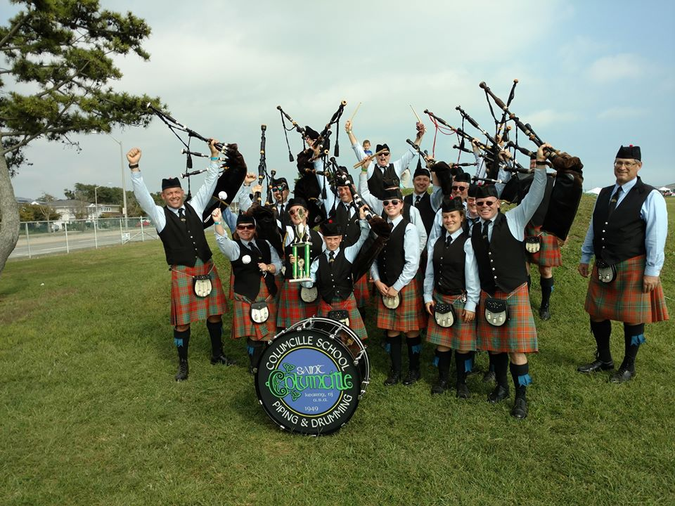 Saint Columcille Pipers