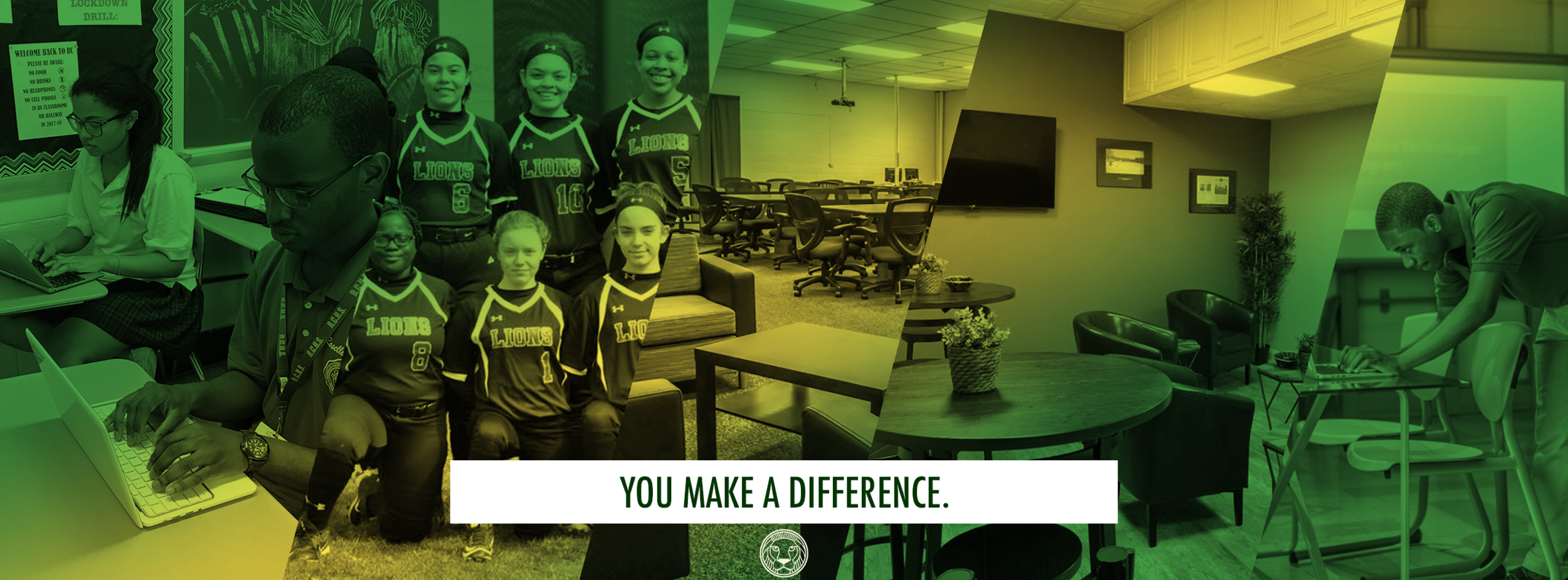 With every donation, with every event attended, with every ounce of support, you've made a difference in someone's life. You singlehandedly enhanced the Roselle Catholic experience for even one person. And for that alone, we thank you.