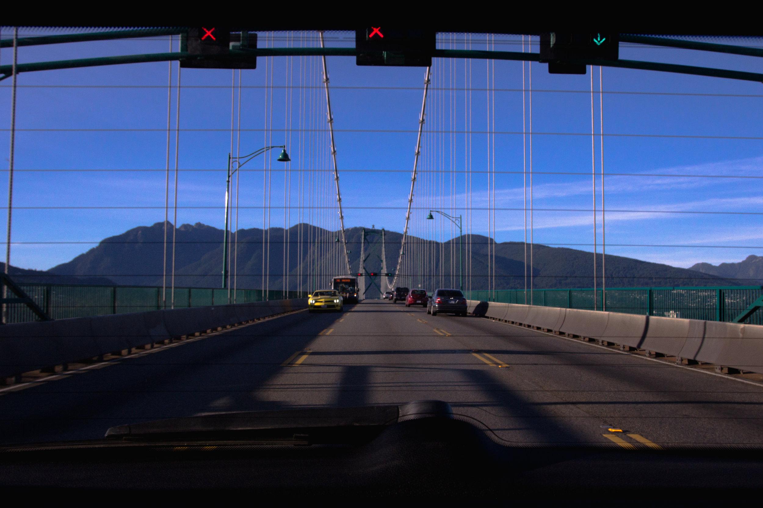 Lions Gate Bridge - Vancouver, British Columbia