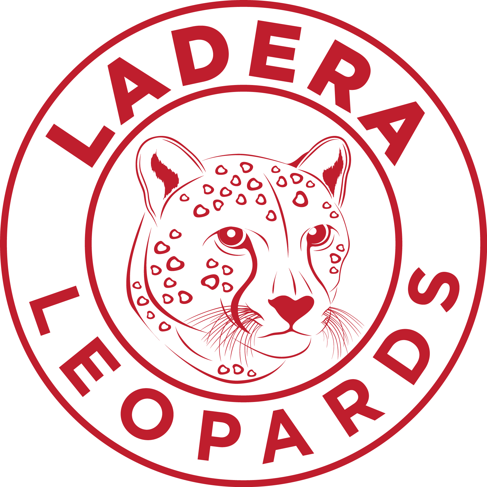 Red Ladera Leopard Logo