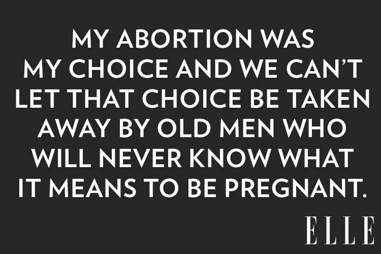 ELLE - MY JOURNEY THROUGH GRIEF AND ABORTION: WHY WOMEN NEED ALL THE CHOICE THEY CAN GET