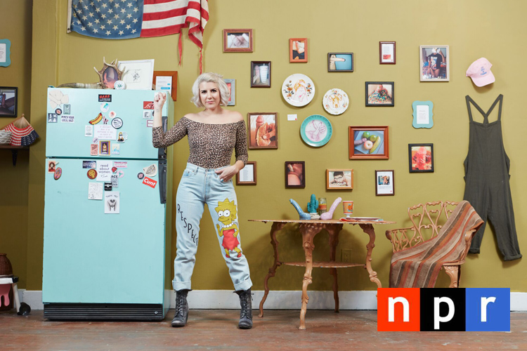 NPR - INFLECTION POINT - How to Flip the Script on D*ick Pics - Whitney Bell, Feminist Activist