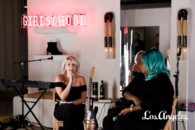 LOS ANGELES MAGAZINE - GIRLSCHOOL IS MAKING SPACE FOR WOMEN IN MUSIC AND BEYOND