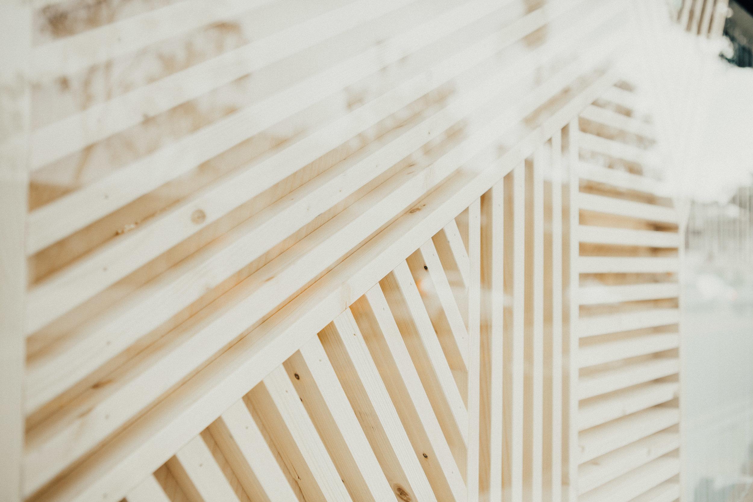 Amuse Society Window Display | Relevant + Raw Installation | @RelevantRaw