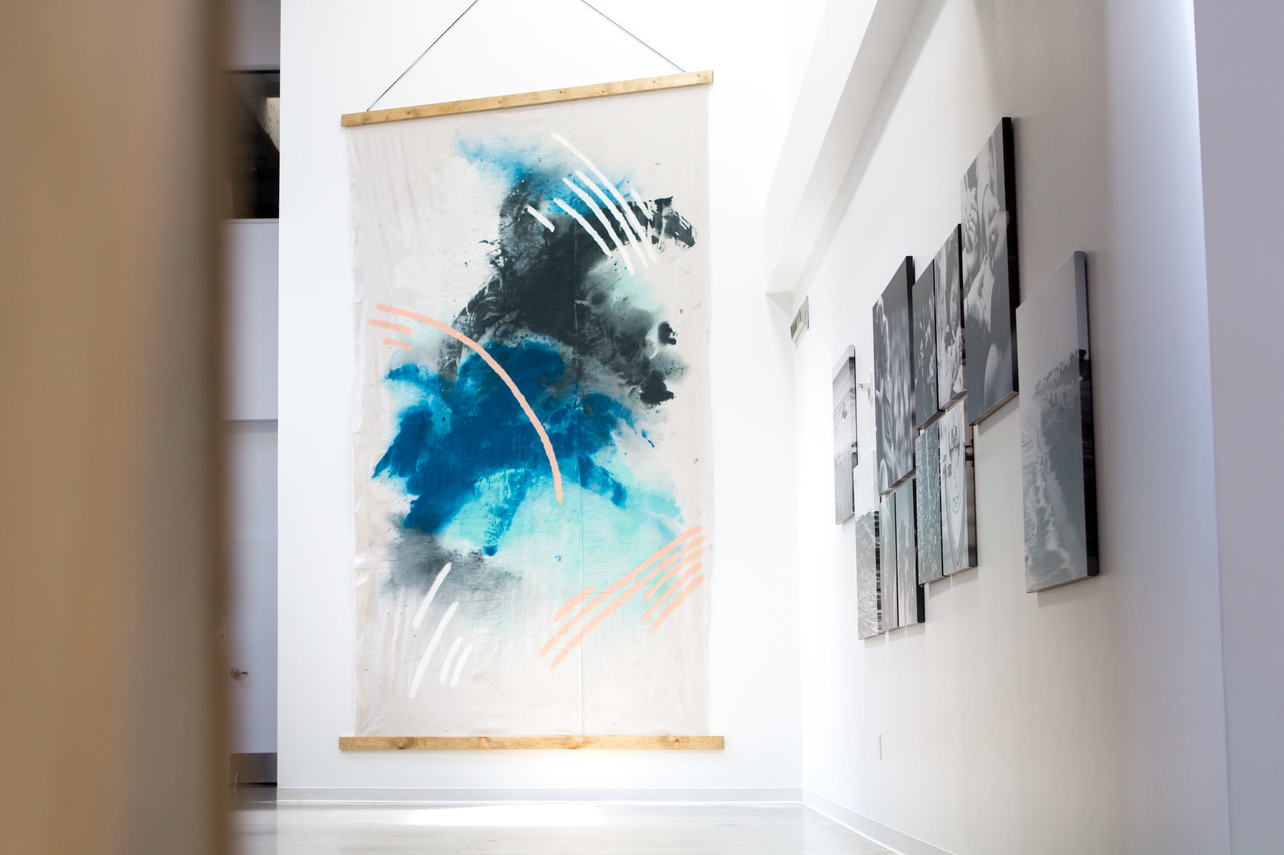 Canvas Painting Collab | Relevant + Raw Installation | @RelevantRaw