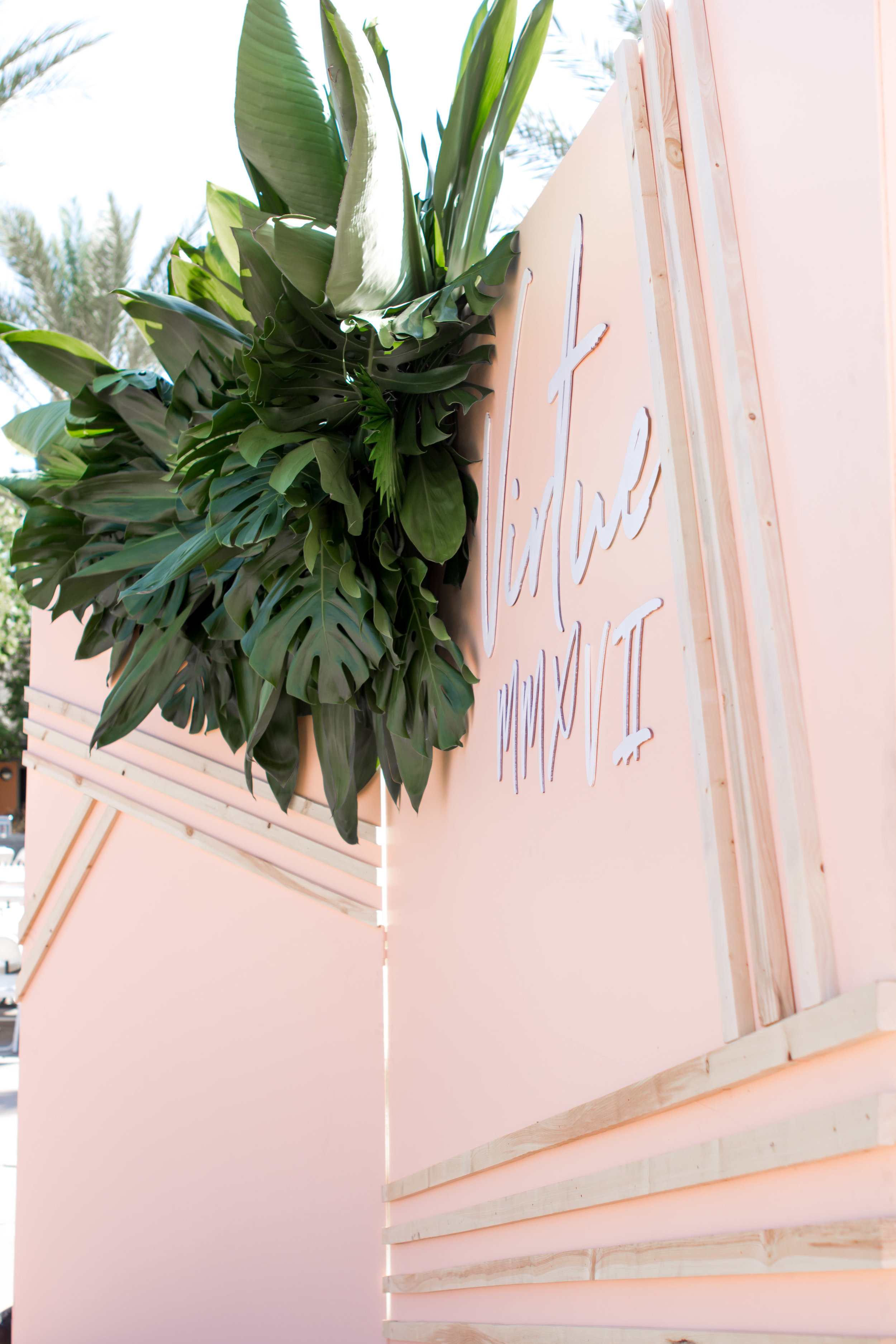 Tropical & Pink | Relevant + Raw Installation | @RelevantRaw