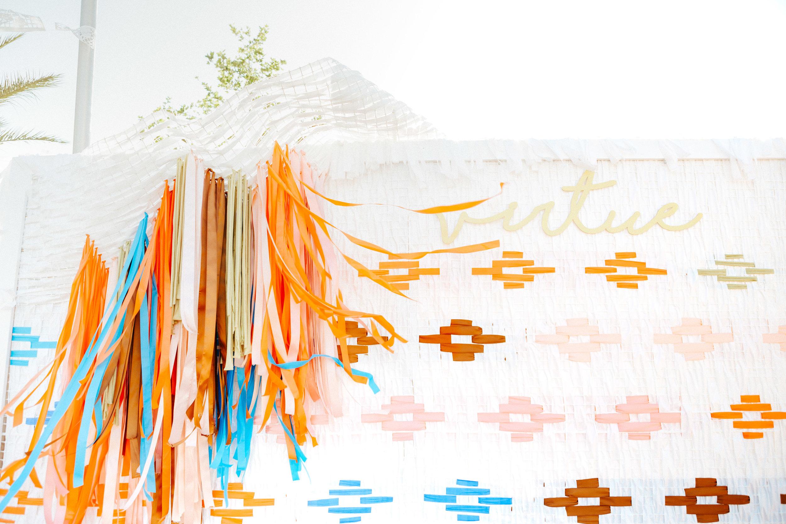 Fiesta Photo Backdrop | Relevant + Raw Installation | @RelevantRaw