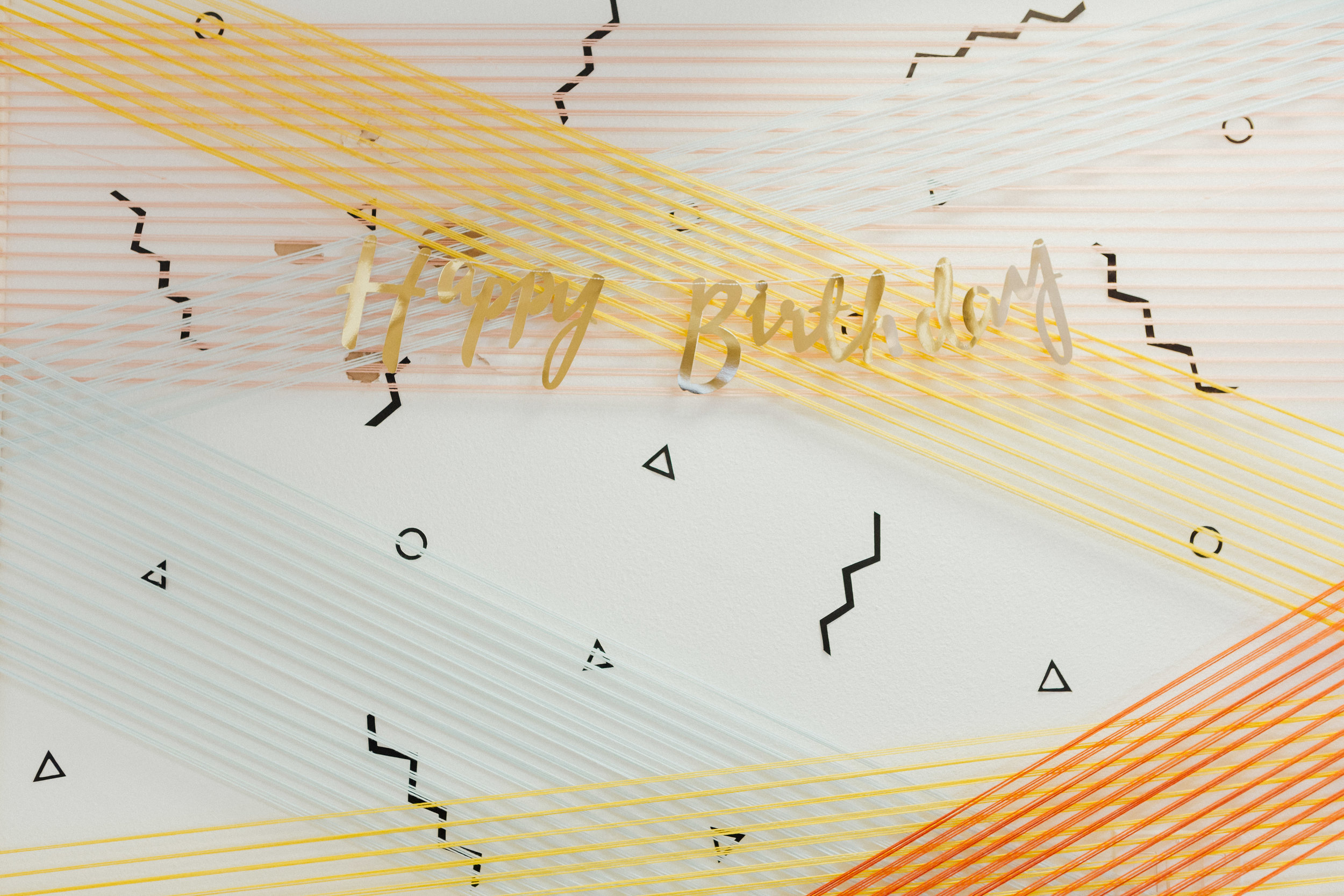 String Art | Relevant + Raw Installation | @RelevantRaw